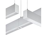Світлодіодний світильник лінійний підвісний SP530P LED34S/840 PSD PI5 SM2 L1130 ALU, Philips, фото 1