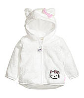 Курточка велсофт для девочки H&M. 12-18 месяцев