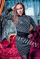 Женский костюм LV кофта+юбка