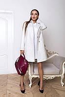 Женское шерстяное пальто оверсайз прямого покроя 1402131