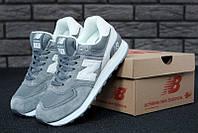 """Кроссовки женские New Balance 574 Grey """"Серые"""" размер 36-41, фото 1"""