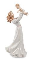 "Фарфоровая статуэтка ""Девушка с ребенком"" (Pavone) 34 см"