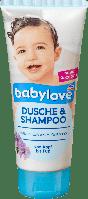 Детский гель для душа + шампунь Babylove Pantnenol Dusche & Shampoo, 200 ml, фото 1