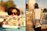 Сумочка жіноча дорожня Совята, фото 2