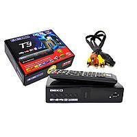 Цифровой эфирный приемник T2 BEKO DV3-T9 IPTV/YouTube/WiFi/4K-KY-T9!Расподажа