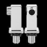Колена для смесителя и ванны Invena - квадратные