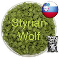 Хмель Стириан Вольф,(Styrian Wolf) α-11,7%