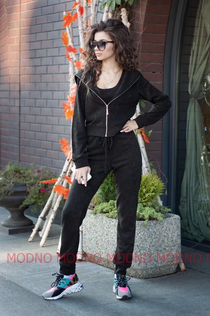 5a247af7 Ангоровый женский костюм-тройка с топом 7105495