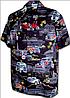 Рубашка гавайка Pacific Legend 410-3646 black