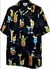 Рубашка гавайка Pacific Legend 410-3674 black