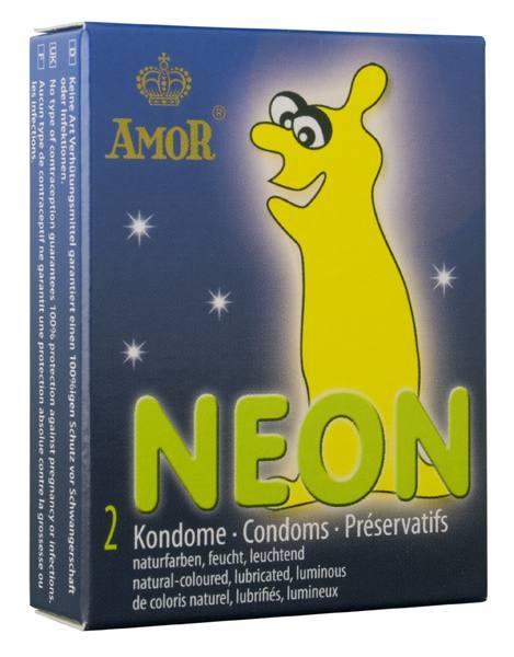Презервативы Amor Neon 2 шт