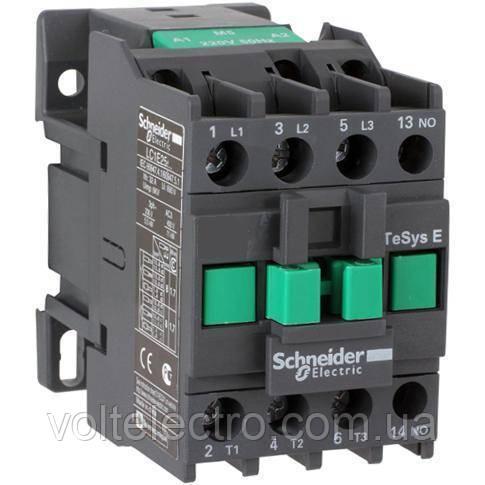 Контактор 3P 1НО 12А 400В AC3 220В 50Гц