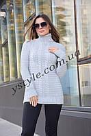 Теплый женский свитер, в расцветках, фото 1