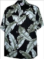 Рубашка гавайка Pacific Legend 410-3690 black