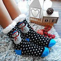 Жіночі теплі шкарпетки (на флісі)