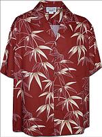Рубашка гавайка Pacific Legend 410-3707 red