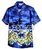 Рубашка гавайка Pacific Legend 440-2846 navy