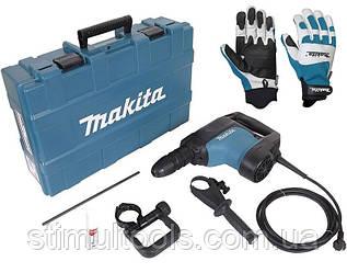 Перфоратор Makita HR4501С + защитные перчатки XL HR4501C988000810