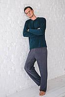 Мужская флисовая пижама. Польша. Wiktoria 517 зеленый