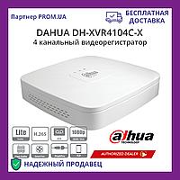 4-х канальный Penta-Brid 1080p Smart 1U видеорегистратор Dahua DH-XVR4104C-X