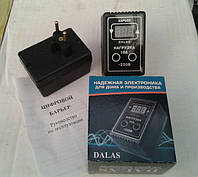 Реле напряжения цифровое защитное DALAS нагрузка 10А / розеточный (ЦИФРОВОЙ БАРЬЕР) Украина