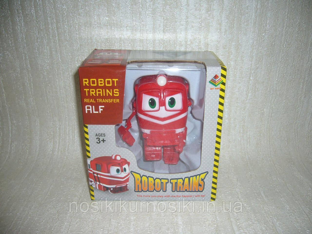Трансформер Robot Trains паровозик Альф Alf