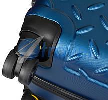 Чемодан CAT Industrial Plate 83552;177 голубой ручная кладь, фото 2