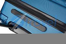 Чемодан CAT Industrial Plate 83552;177 голубой ручная кладь, фото 3