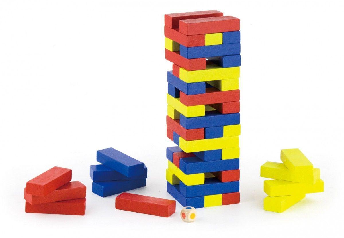 Игра джанга  «Башня» Viga Toys (56215VG)