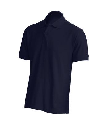 Мужская футболка поло , темно-синяя