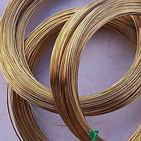 Проволока бронзовая ф 0,8мм БРБ-2