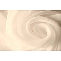 Шифон тканевое полотно (айвори)