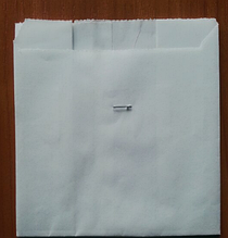 Пакет саше белый 100х100х40 (3.97)
