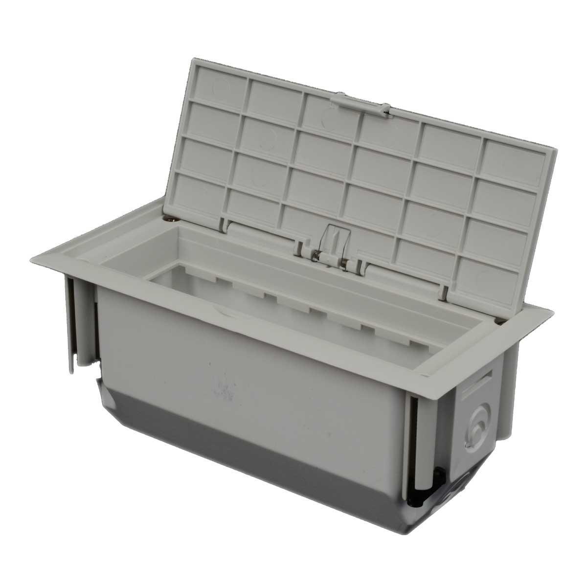 Коробка для приладів в пустотілі основи (білого кольору)KOPOBOX MINI