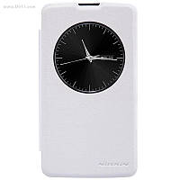 Чехол Nillkin Sparkle для LG L70+ (L Fino/D295) Pure White