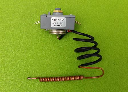 Термостат аварийный (защитный) капиллярный Thermowatt 20А на 95°С           Италия, фото 2