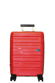 Дорожный чемодан V&V Travel CONWOOD PPT002_55 красный ручная кладь