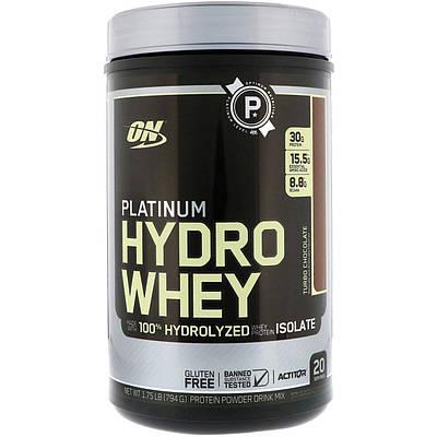 Протеин Optimum Nutrition Platinum Hydro Whey (795 g)