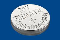 Батарейка RENATA Silver Oxide low drain  317 (AG0-/SR516SW/SR62)