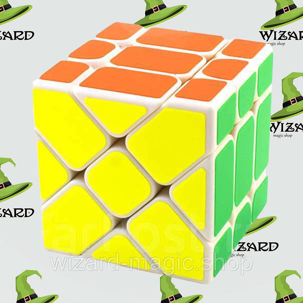 Кубик рубика Скьюб белый