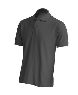 Мужская футболка поло, серая