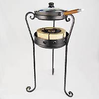 Комплект Жаровой + сковорода (чугун), фото 1