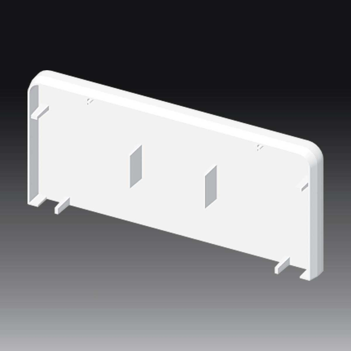 Заглушка для PK 120х55 D; Серія PK; ПВХ