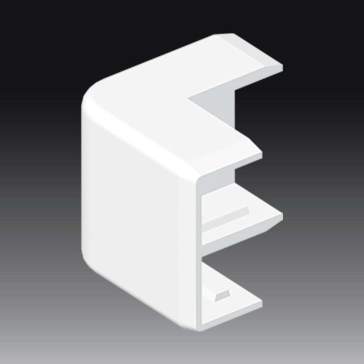 Кут зовнішній для LHD 32x15 білого кольору; Серія LHD; ПВХ