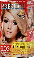 Стойкая крем-краска для волос Vip's Prestige тон 203 Бежевый Блондин