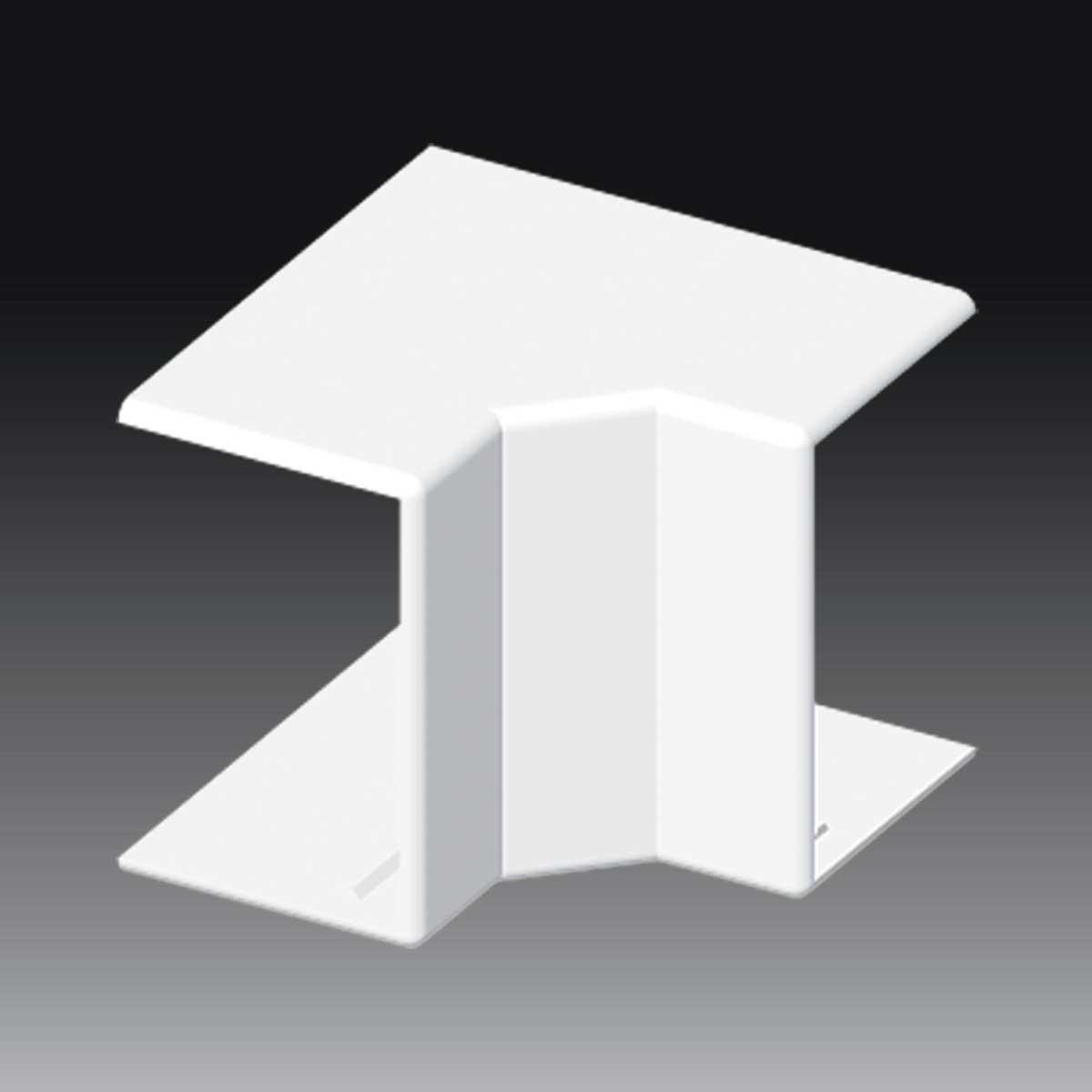 Кут внутрішній (регульований) для LH 60x40 білого кольору; Серія LH; ПВХ