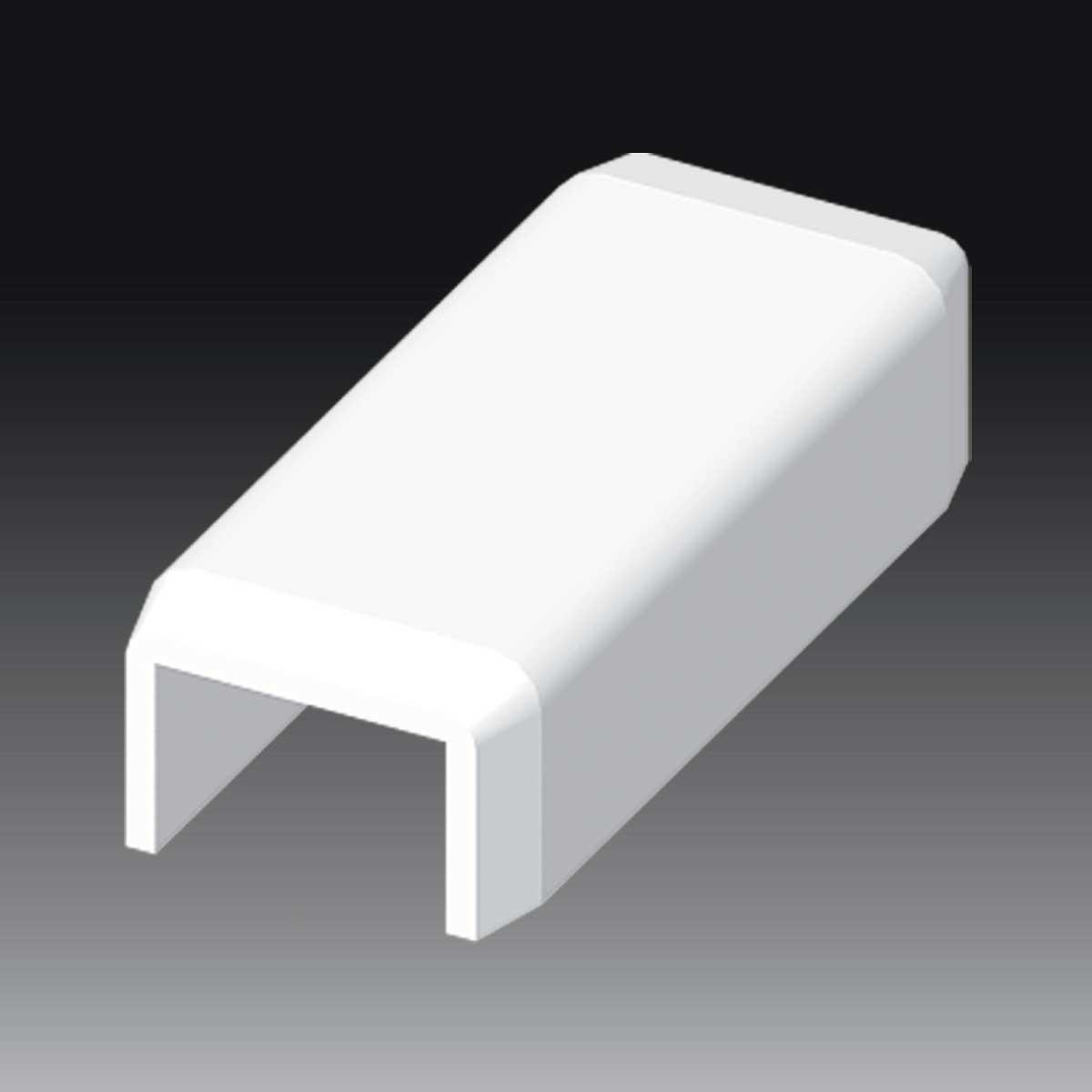 З'єднувач для LH 15х10  білого кольору; Серія LH; ПВХ