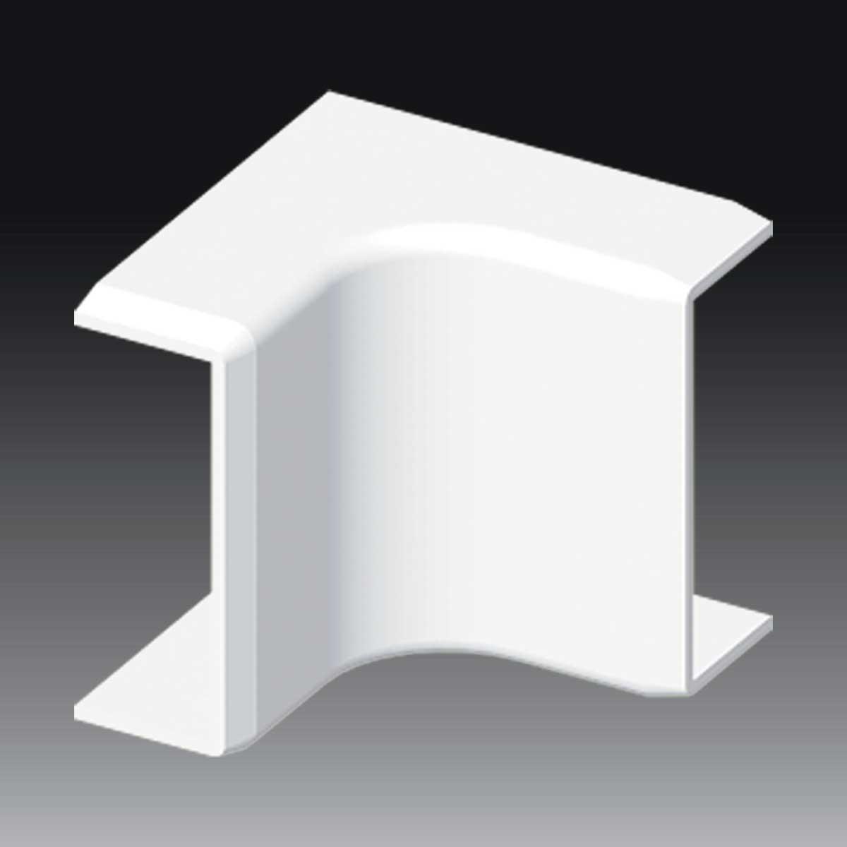 Кут внутрішній для LV 40х15 білого кольору; Серія LV; ПВХ
