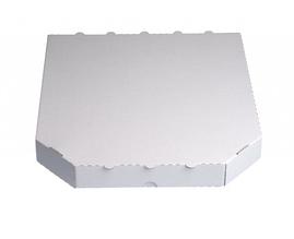 Коробка для пиццы 250х250х30 мм. (белая)