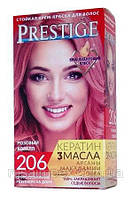 Стойкая крем-краска для волос Vip's Prestige тон 206 Розовый коралл